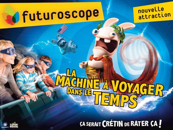 Futuroscope / Lapins Crétins TM & © 2013