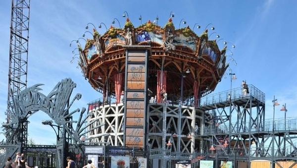 Le Carrousel des Mondes Marins, Machines de l'île, Nantes.