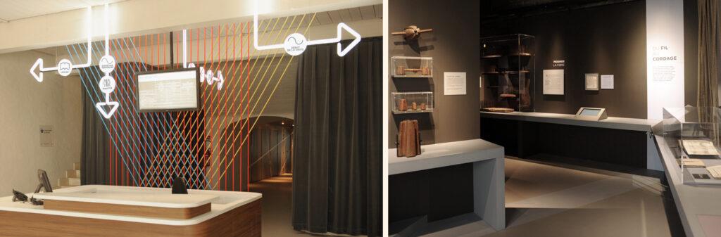 « La Corderie : une vie d'ateliers », le nouveau parcours de la Corderie royale de Rochefort, pensé et conçu par La fabrique créative. ©La fabrique créative