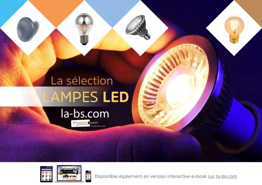 plaquette LED LA BS couverture