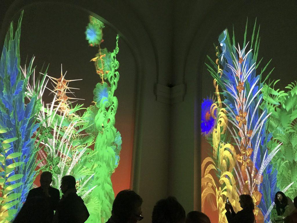 artistes robots grand palais éclairages big bang