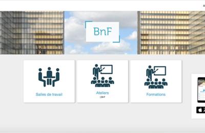 Copie-écran de l'application mobile Affluences dédiée à la BnF ©Affluences