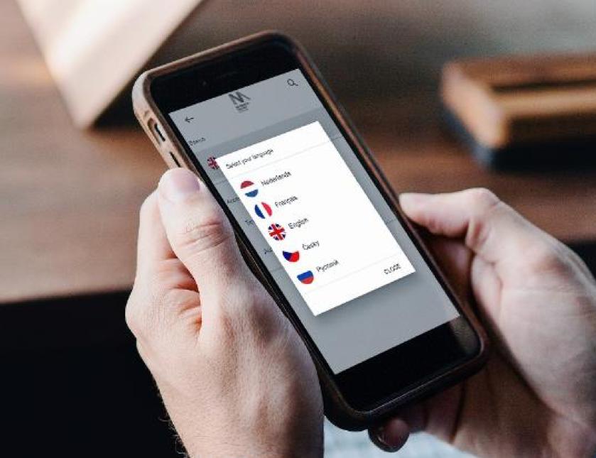 Les contenus sont disponibles en Russe, Tchèque, Néerlandais... ©Twelve Solutions
