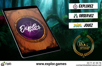 application ExplorGames aventure