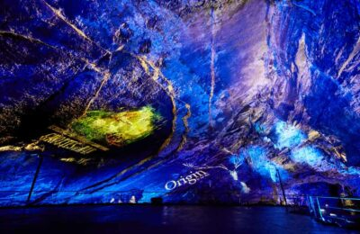 inytium grottes de han spectacle origin by luc petit
