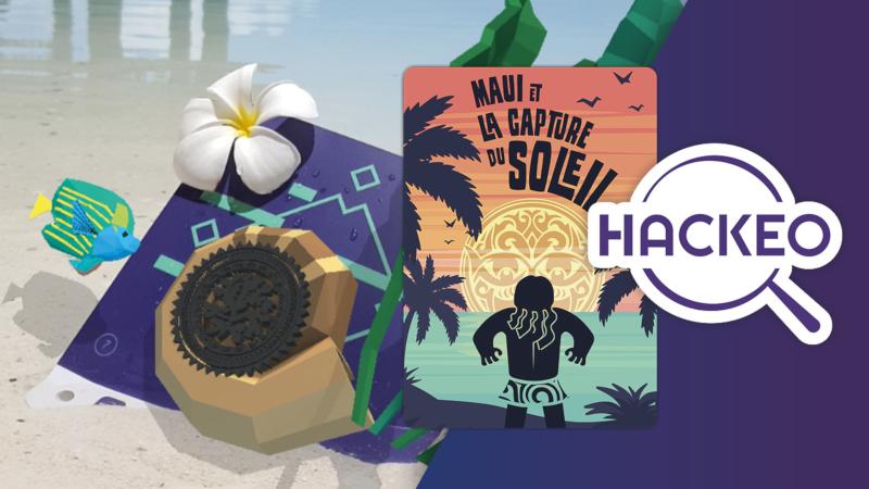 Haeckeo Digital Festival Tahiti Design