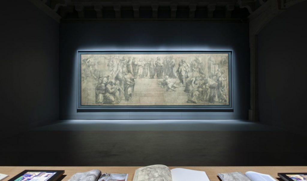 Goppion-vitrine-Raphaël-bibliothèque-ambrosienne-Milan