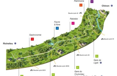 OHRIZON-vélo-route-Richelieu-Chinon-experience-mobile-itinérante