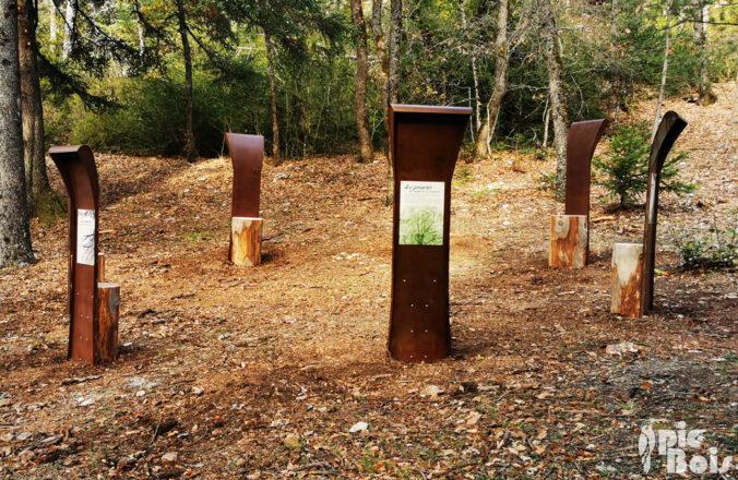 PIC BOIS - Conseil des Sages : Structures en métal et billots de bois